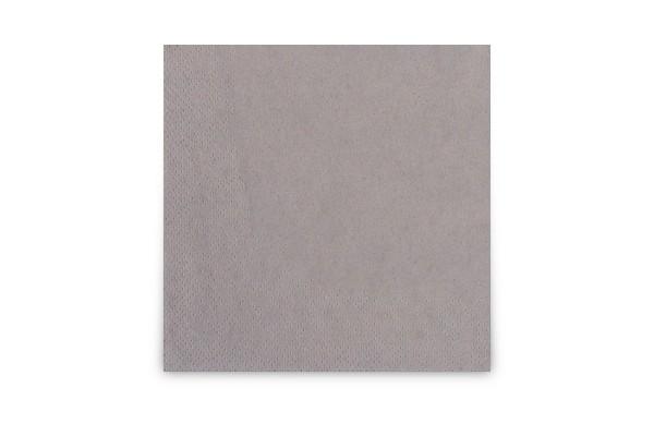 Hypafol farbige Cocktailserviette, 24 x 24 cm, grau