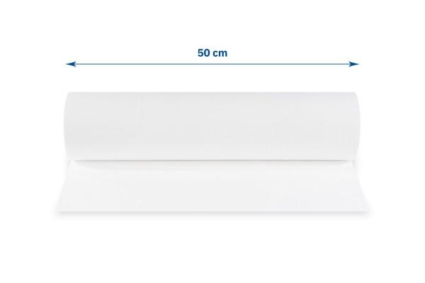 SemyTop Abdeckrollen, 40 cm, 2-lagig, hochweiß, perforiert, Zellstoff