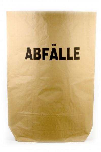 Funny Papiermüllsäcke, 120 Liter, bedruckt - ABFÄLLE, 25 Stück