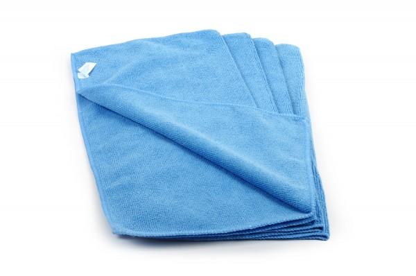 SemyTop Mikrofasertücher, blau, 40x40cm, 20 Stück, 80% Polyester, 20% Polyamid, waschbar