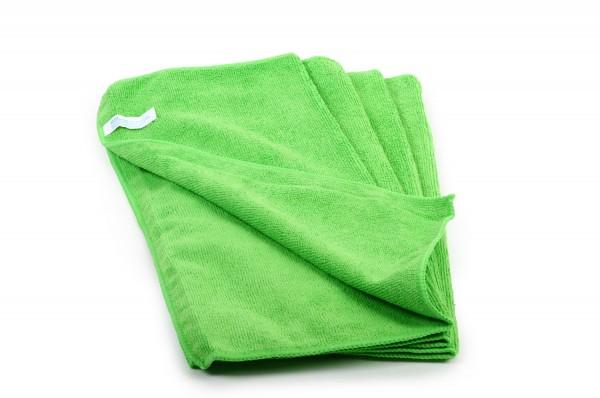 SemyTop Mikrofasertücher, grün, 40x40cm, 20 Stück, 80% Polyester, 20% Polyamid, waschbar