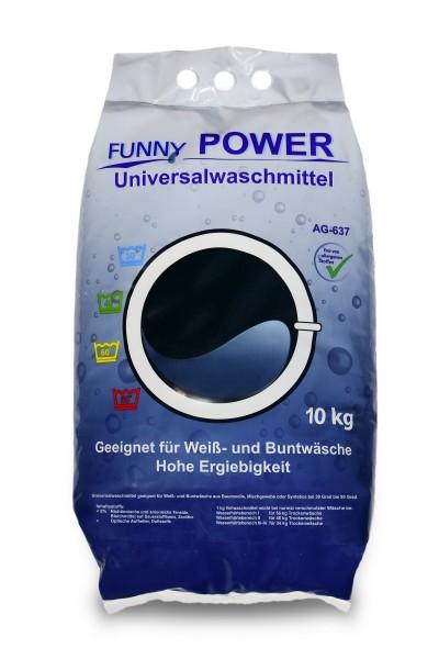 Universelles Vollwaschmittel in der 10kg Packung. Phosphatfrei. Effektives Waschmittel für alle Textilien.