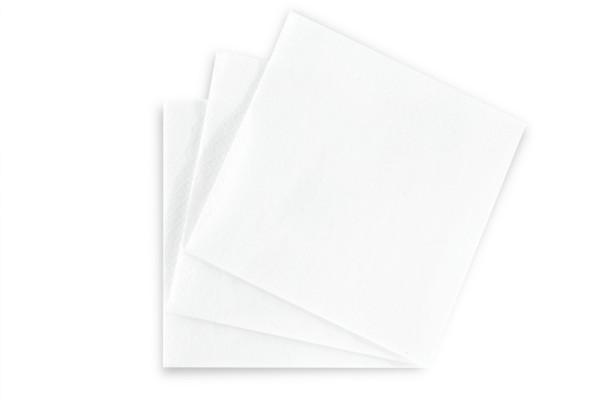 Hypafol Tafel-Servietten, 33 x 33 cm, 3-lagig, weiß