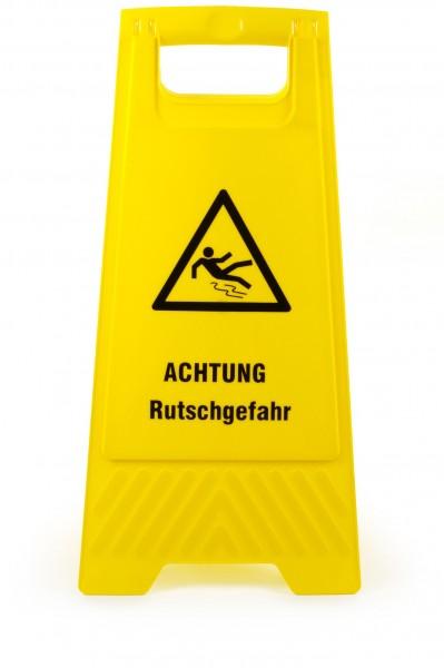 """SemyTop Warnschild """"Achtung Rutschgefahr"""", gelb"""