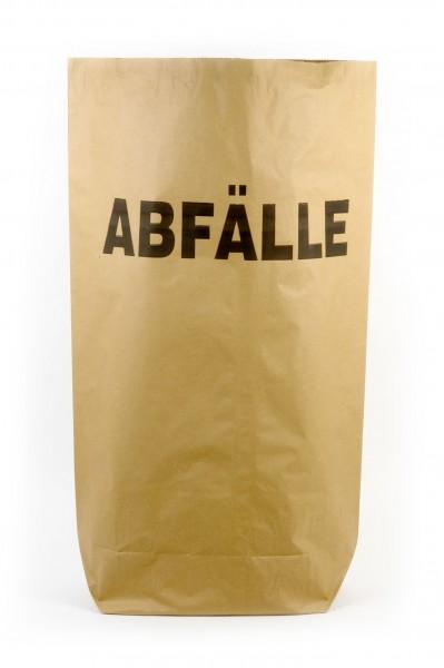 Funny Papiermüllsäcke, 70 Liter, bedruckt - ABFÄLLE, 25 Stück