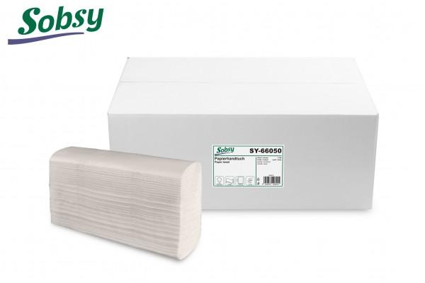 Papierhandtücher, 2-lg., 20,5 x 24 cm, Z-Interfold Falz, rec. weiß