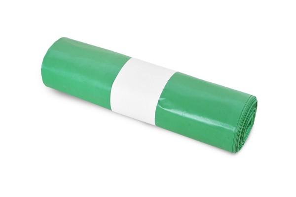 Funny Müllsack, grün, 70 Liter, 250 Stück, LDPE-Reg. extra
