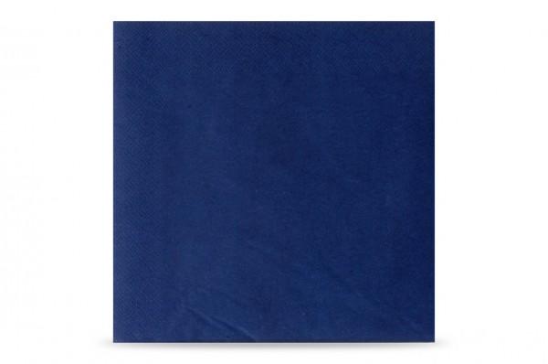 Hypafol farbige Servietten, 40 x 40 cm, 3-lagig, dunkelblau