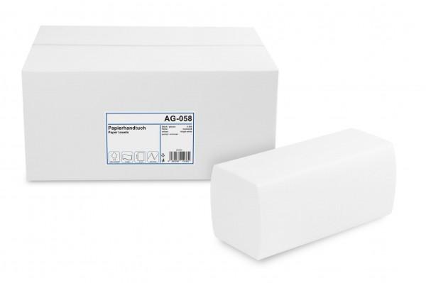 Funny Papierhandtuch 2-lagig ZZ/V-Falz, Zellstoff, hochweiß, 4.000 Stk.