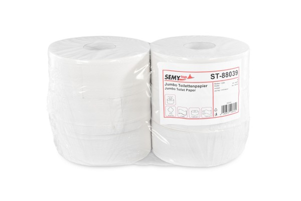 Jumbo Toilettenpapier ST-88039 Recyclingpapier 2-lagig