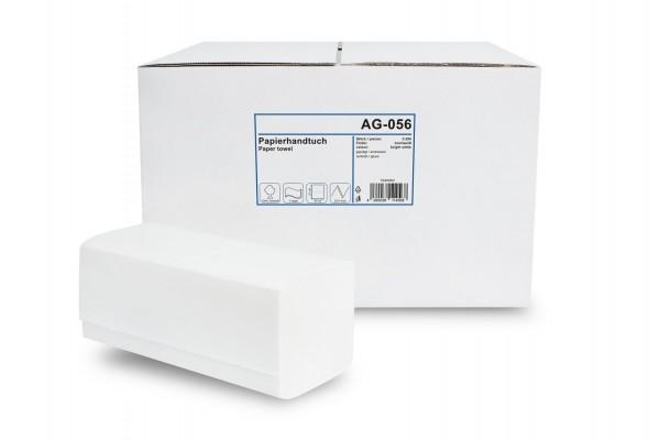 Funny Papierhandtuch 2-lagig ZZ/V-Falz, Zellstoff, hochweiß, 3.200 Stk.