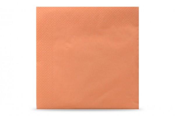 Hypafol farbige Servietten, 40 x 40 cm, 3-lagig, apricot