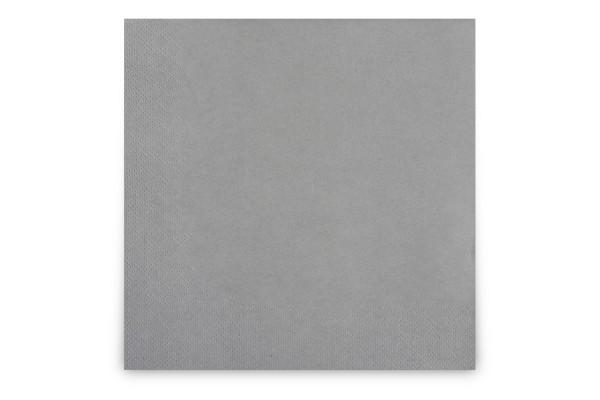 Hypafol farbige Servietten, 40 x 40 cm, 3-lagig, grau