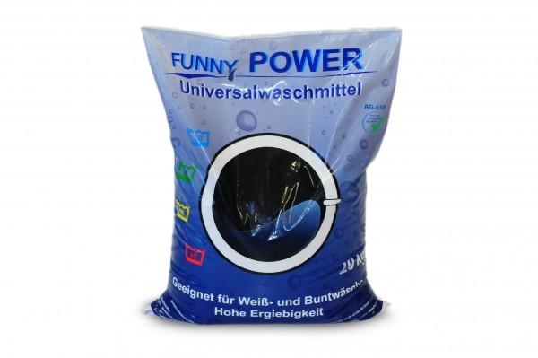 Universelles Vollwaschmittel in der 20kg Packung. Phosphatfrei. Effektives Waschmittel für alle Textilien.