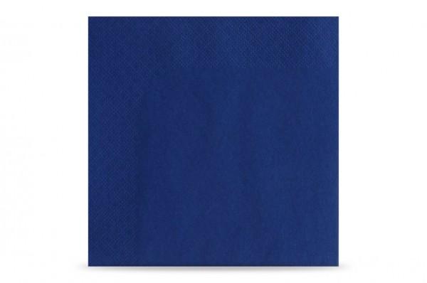 Hypafol farbige Servietten, 33 x 33 cm, 3-lagig, dunkelblau