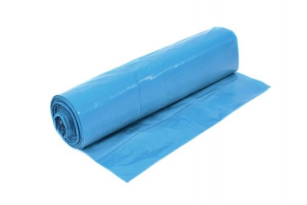 Funny Müllsäcke, blau, 120 Liter, 250 Stück, LDPE-Reg.