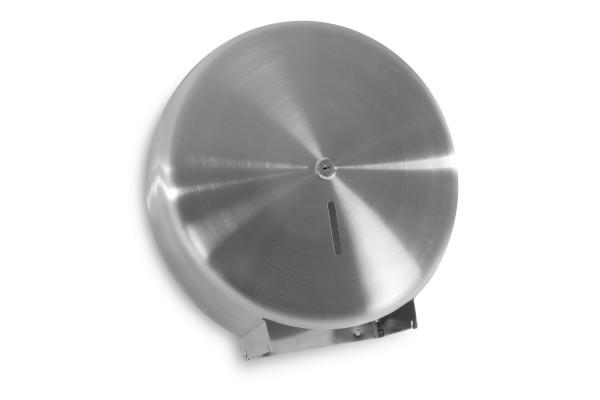SemyTop Jumbo Toilettenpapier-Spender, Edelstahl, bis 32 cm Durchmesser