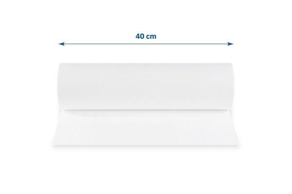 Funny Abdeckrollen, 40 cm, 2-lagig, hochweiß, perforiert, Zellstoff