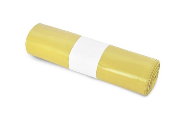 Funny Müllsack, gelb, 70 Liter, 250 Stück, LDPE-Reg. extra