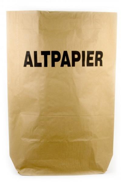 Funny Papiermüllsäcke, 120 Liter, bedruckt - ALTPAPIER, 25 Stück