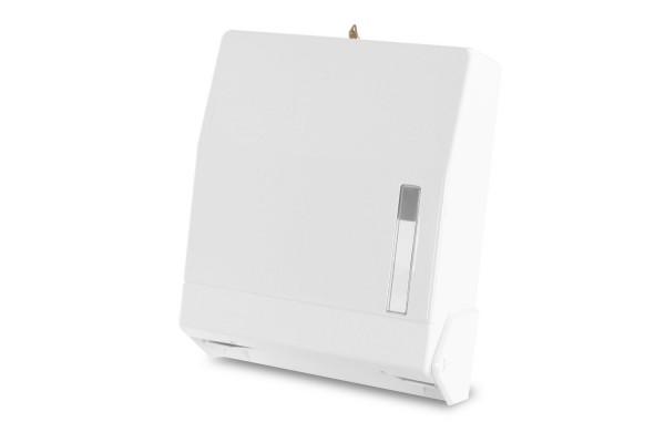 Funny Papierhandtuch-Spender AG-503, weiß, Kunststoff, für ca. 600 Blatt