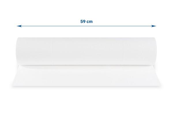 SemyTop Abdeckrollen, 50 cm, 2-lagig, hochweiß, perforiert, Zellstoff