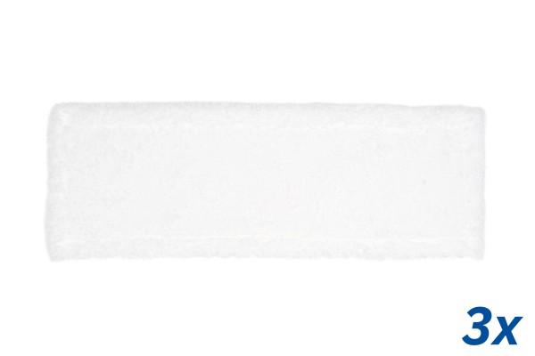 3x Mikrofaser Wischmopp, 50 cm
