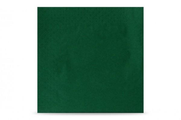 Hypafol farbige Servietten, 33 x 33 cm, 3-lagig, grün